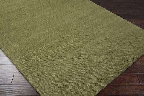 Surya M-329 Mystique Hand Loomed 100% Wool 9'9 Round Rug Hand Loomed. 100% Wool. Solids / Tone-On-Tone / Stripes. Solids and Borders. India.  #Surya #Home