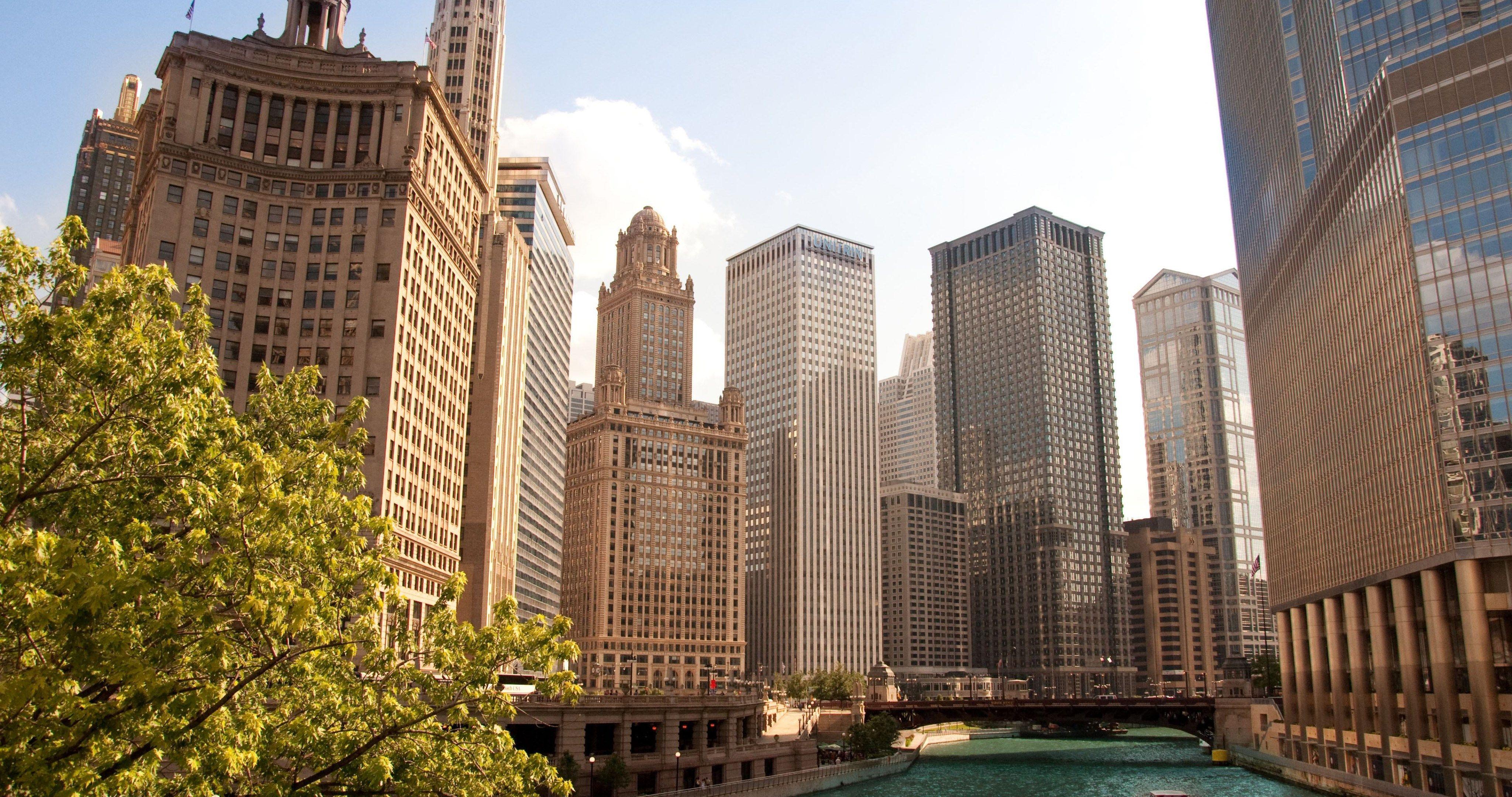 Usa Illinois 4k Ultra Hd Wallpaper Chicago City City Chicago