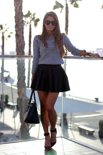 ca5885df7 Look: Kiddy - Jessie - Trendtation | moda | Outfits con faldas, Moda ...