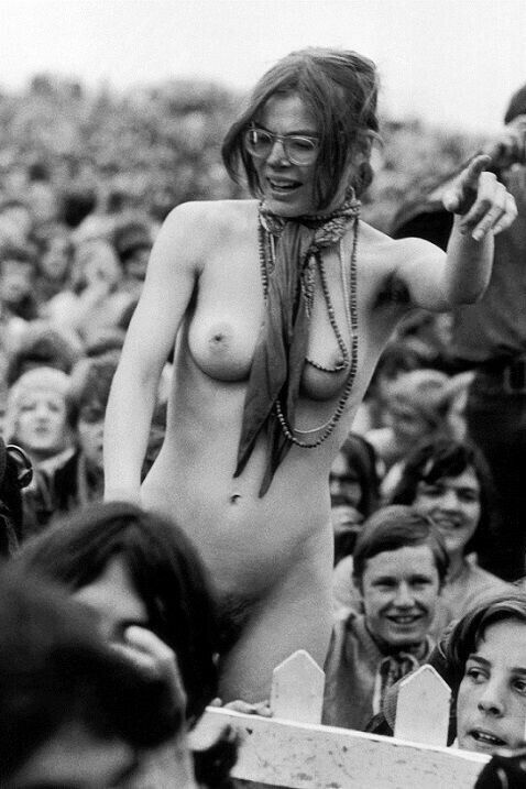 Woodstock 1969, A Time Of Free Love And Nudity By Tom -9529