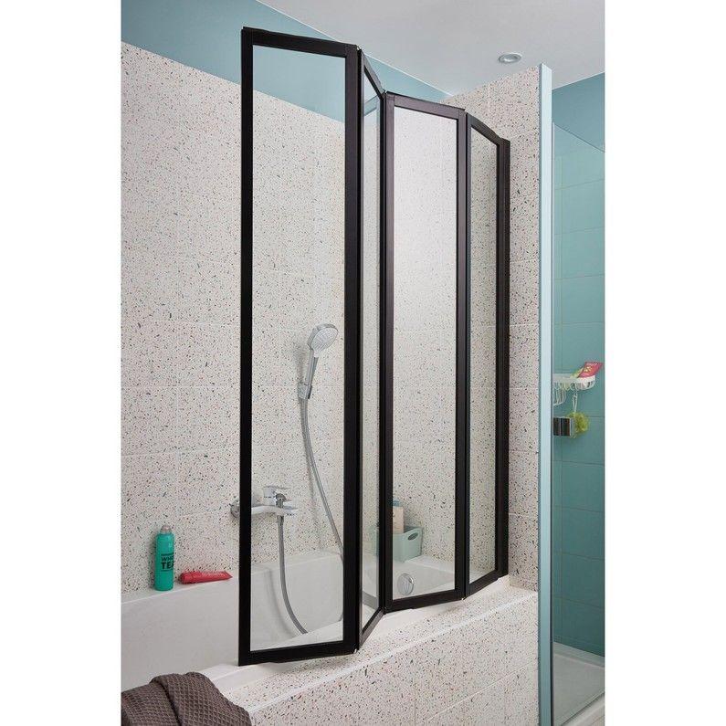Pare Baignoire 4 Volets Pivotant Pliant H 140 X L 110 Cm Tribeca With Images Room Divider Home Decor Home