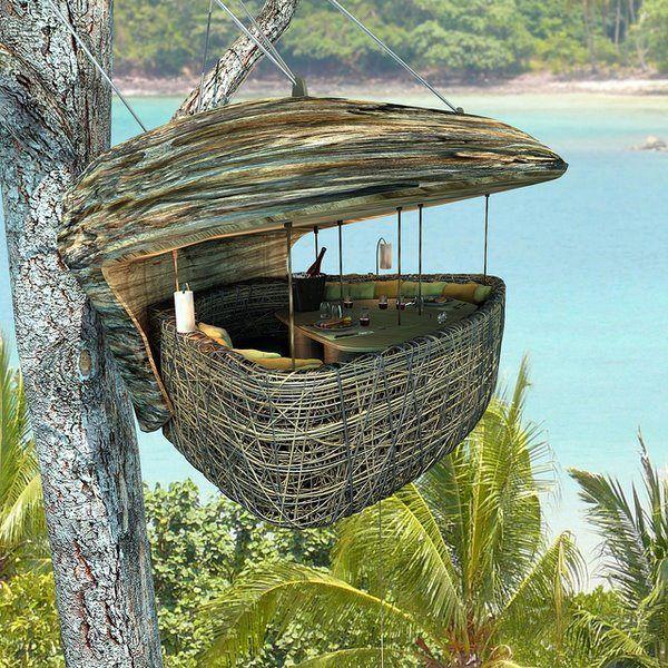 """Dining Pod"" - Soneva Kiri, Thailand"