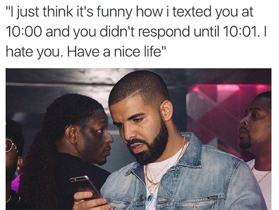 Funny Black Guy On Phone Meme : Drake texting memes cell phone funny pictures drake views