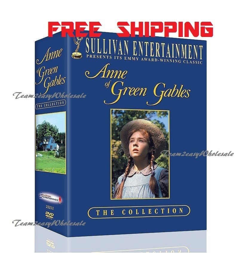 Anne Of Green Gables Trilogy Box Set Dvd The Collection