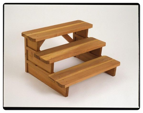 Best Cedar Basic Triple Step 36 Inches Wide Steps Are 10 640 x 480