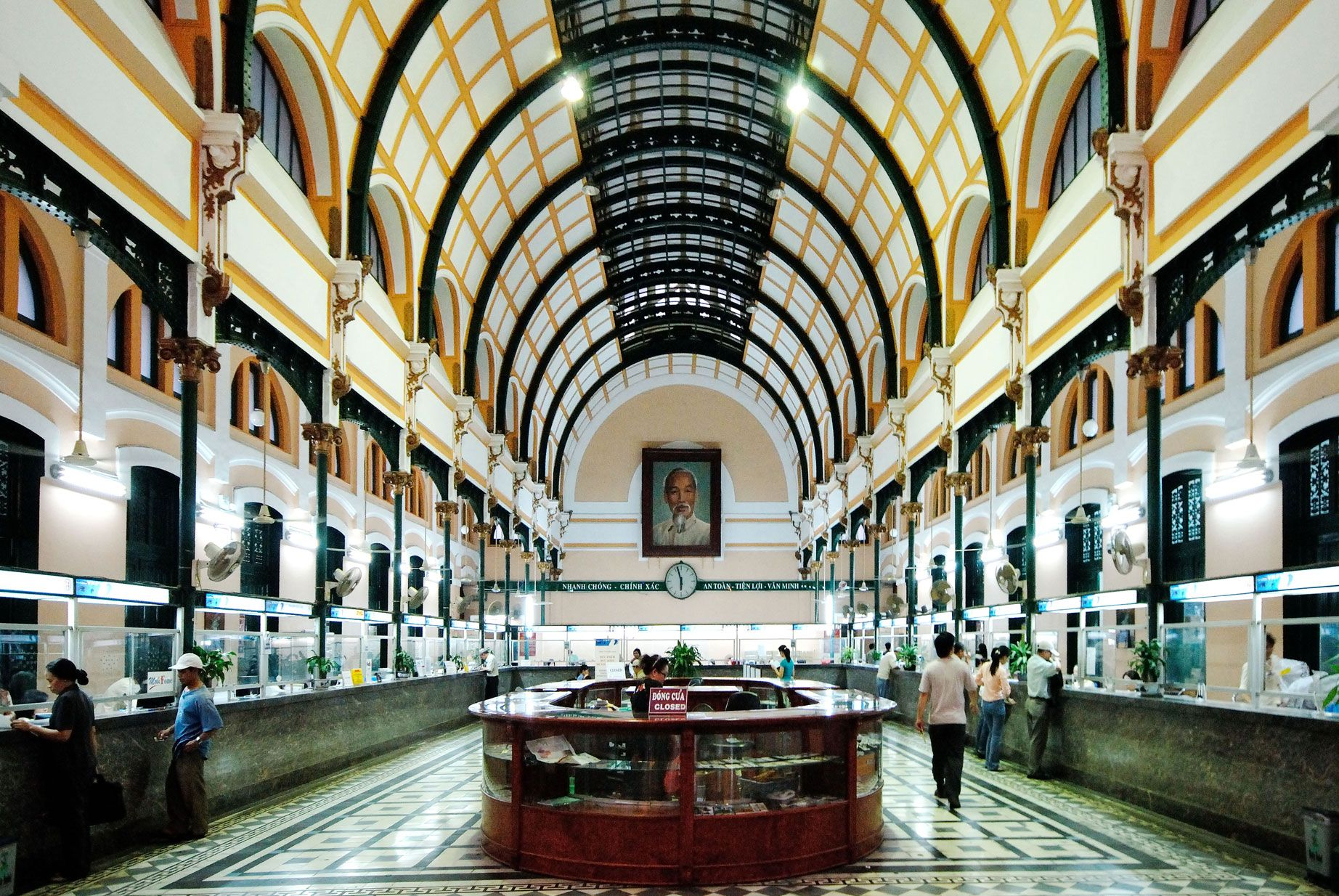 Saigon central postal office in #hcmc built by renowned french
