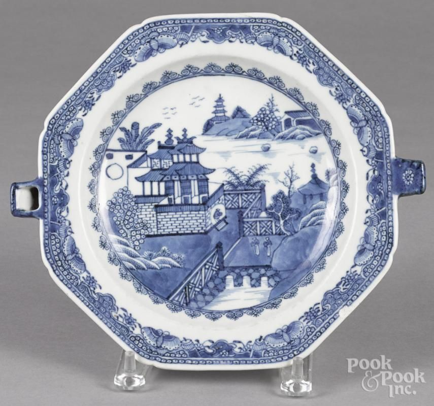 Chinese export blue and white porcelain warming dish 19th c. 9u0027u0027  sc 1 st  Pinterest & Chinese export blue and white porcelain warming dish 19th c. 9u0027u0027 l ...