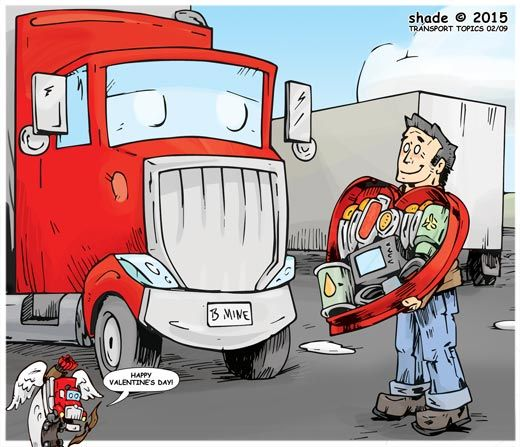 Cartoon | Transport Topics Online | Trucking, Freight Transportation