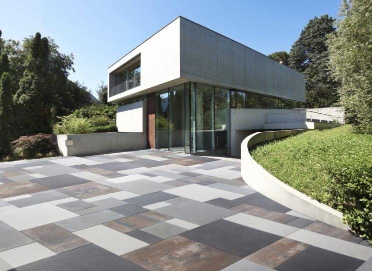 Piastrelle in cemento per esterno outdoor pinterest - Piastrelle cemento esterno ...