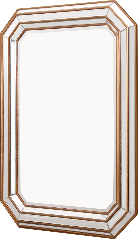 OnLine Atelier - Loja Virtual - arte - decoração - deign-  Espelho Ref 001015. moldura em estrutura de MDF pintada, espelhada chanfrada com detalhes dourados 90 x 120 x 4,5cm  Pronta entrega Informações: (54) 9165-9726 - onlineatelier@hotmail.com