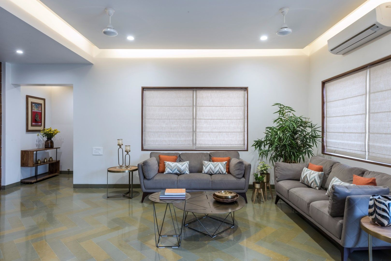 Succinct And Simple Bungalow Design Of Vadodara Studio Yamini