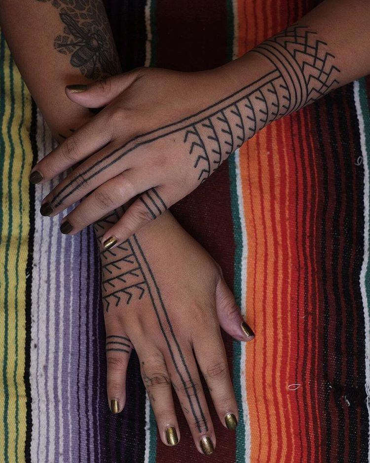 Contemporary Kalinga Tribal Tattoos Filipino Tribal Tattoos