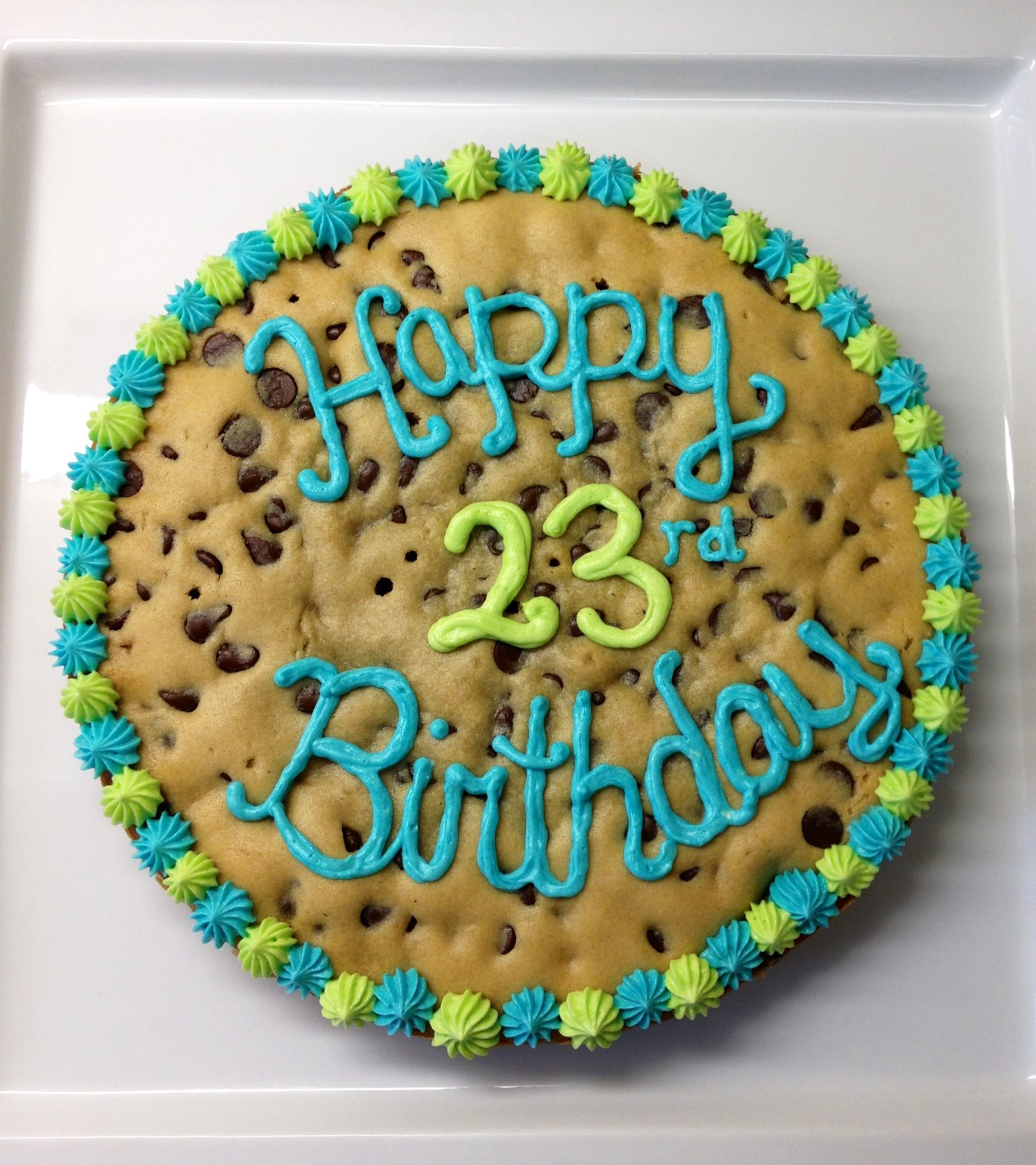 Birthday cookie cake cookies by cait pinterest