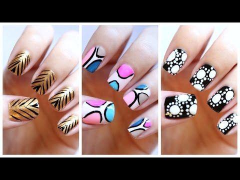 Easy Nail Art For Beginners 19 Missjenfabulous Youtube