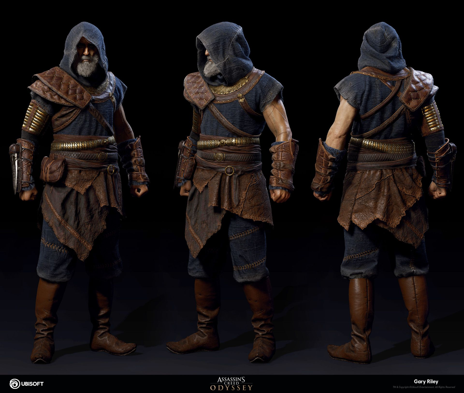 Artstation Darius Assassin S Creed Odyssey Gary Riley