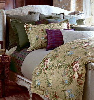 Ralph Lauren Adriana Floral Plaids Solids Bed Linens