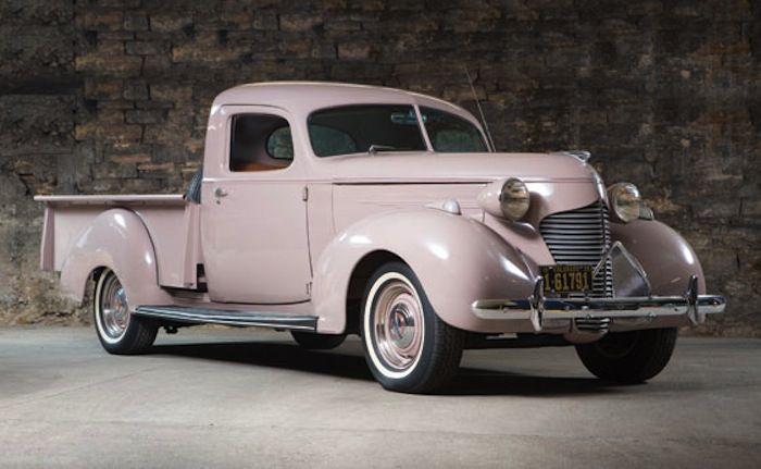 1939 Hudson Model 98 'Big Boy' pickup.