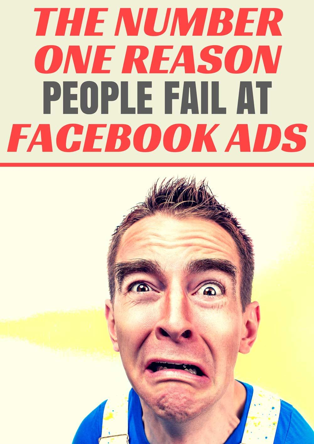 There are many reasons people fail at Facebook ads, but the number one reason is perhaps not what you think .Take a look at this article, which not only explains what it is, but how to avoid it and finally have some success at it.