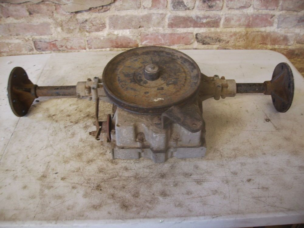 Ford YT-16-G 5 Speed Transaxle rear end transmission #Ford