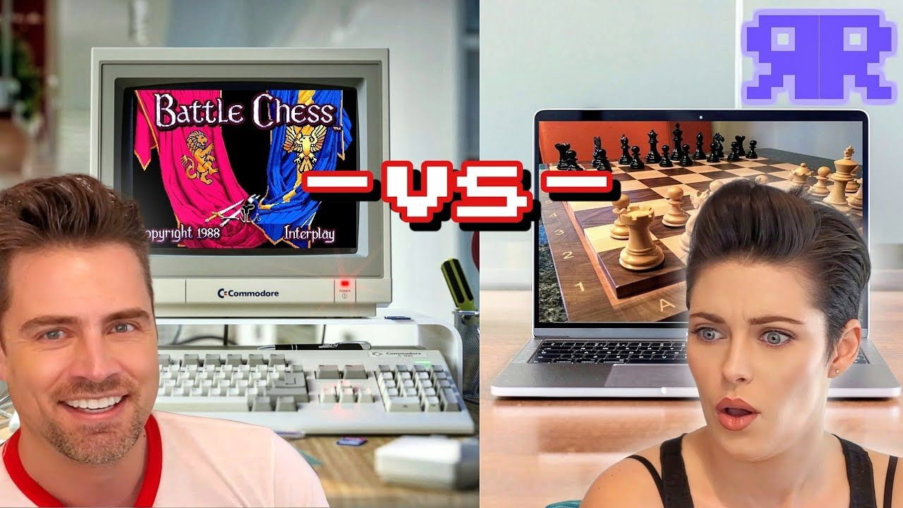 Can an 80s computer beat a new one at Chess?! Amiga vs Mac