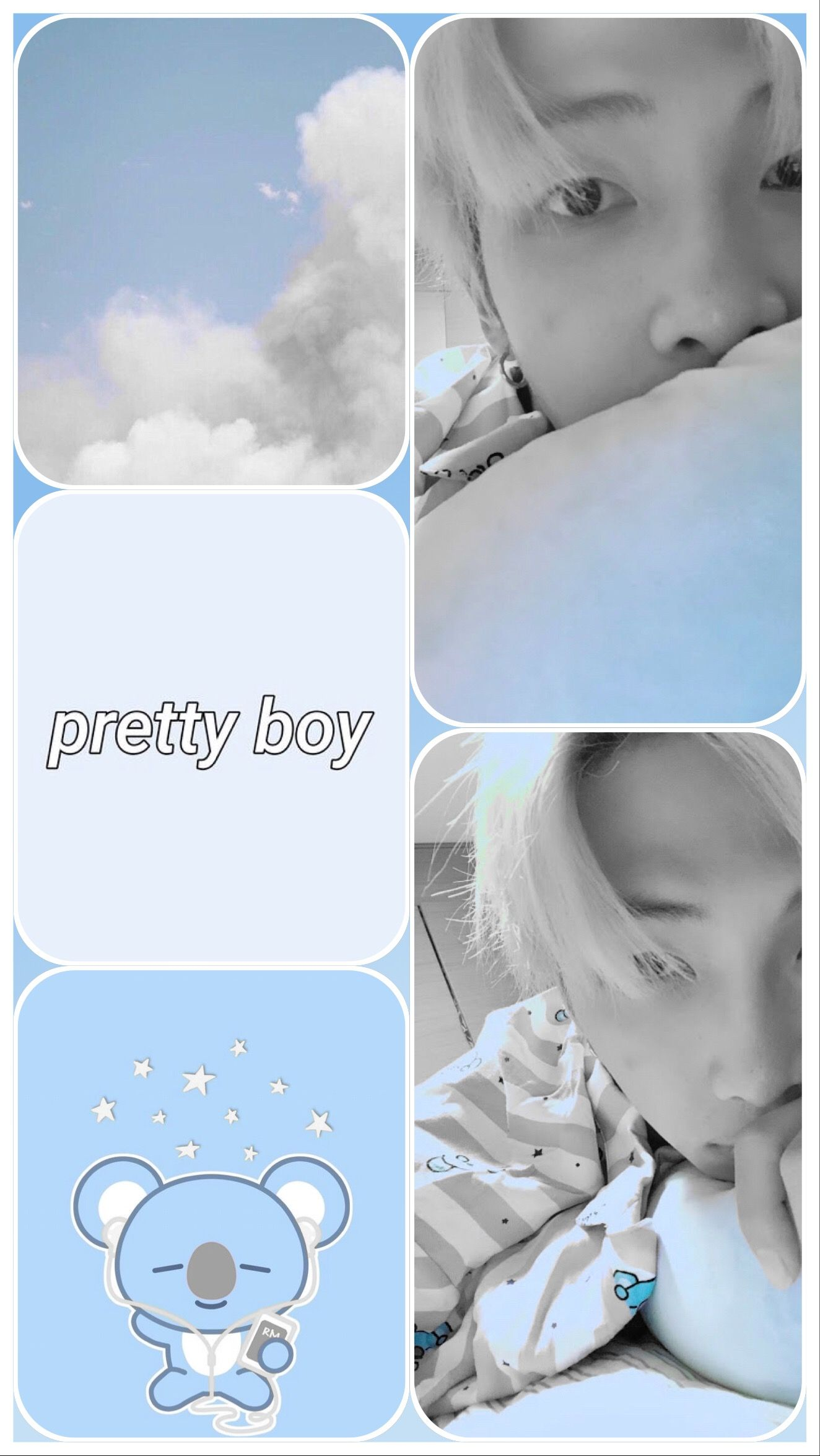 Soft Baby Blue Aesthetic