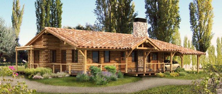 Casas rusticas prefabricadas m s informaci n sobre este y for Fachadas de cabanas rusticas