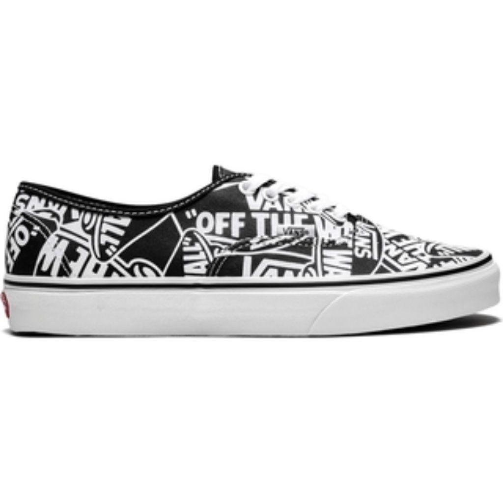 Vans Authentic OTW Repeat BlackWhite Girl Shoes