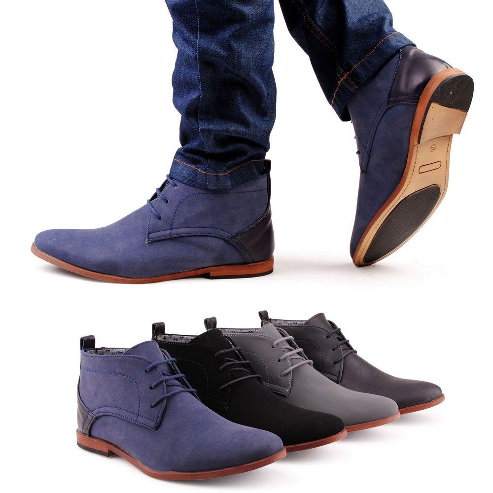 Neu Herren Boots Business Schnürer Stiefeletten 726 Schuhe