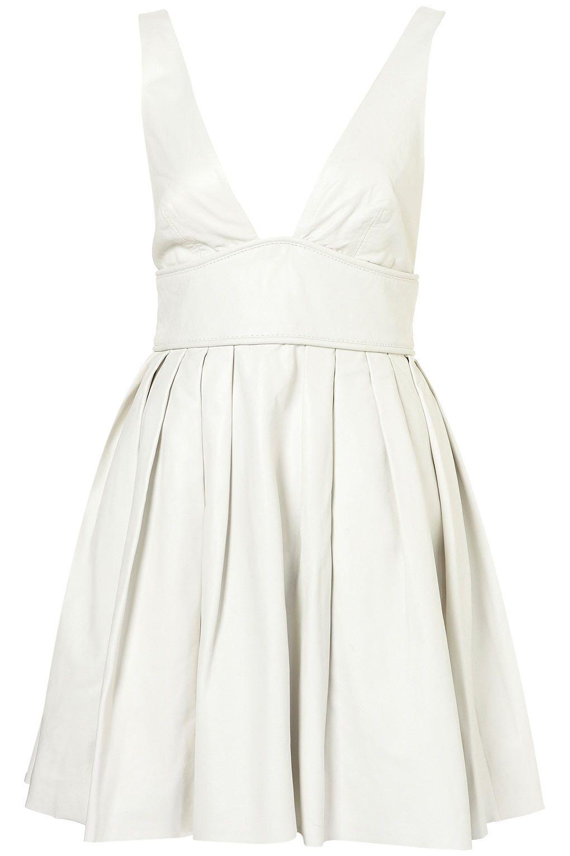 Limited Edition Leather Flippy Dress 350 Cute So Marilyn Monroe White Leather Dress Dresses White Mini Dress [ 1530 x 1020 Pixel ]