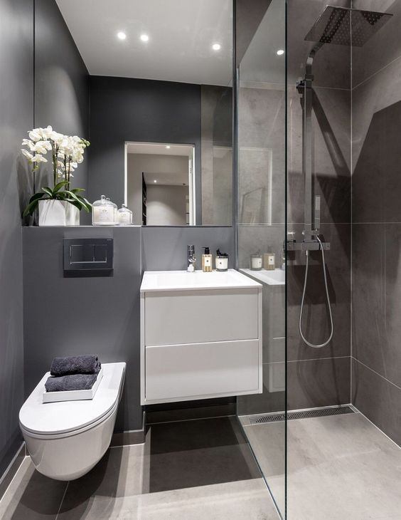 Photo of 37+ Comfortable Small Bathroom Design and Decoration Ideas