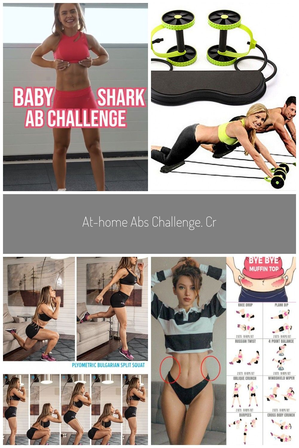 At-Home Abs Challenge. credit: IG @gainsbybrains. Experience the World's Largest Library of Audioboo...