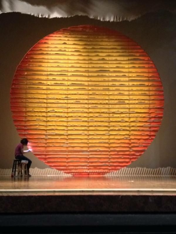 Repairs on the Lion King Sun · By Anje Gern & Rosie Williams Technician Props Assistant | stage props ... azcodes.com