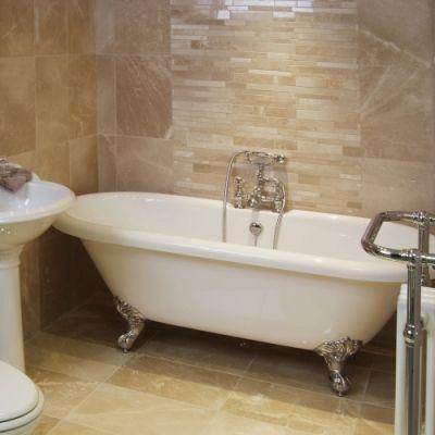 Bathroom Tile Ideas Cream aegean cream tile bathroom white beige cream chrome | bathroom
