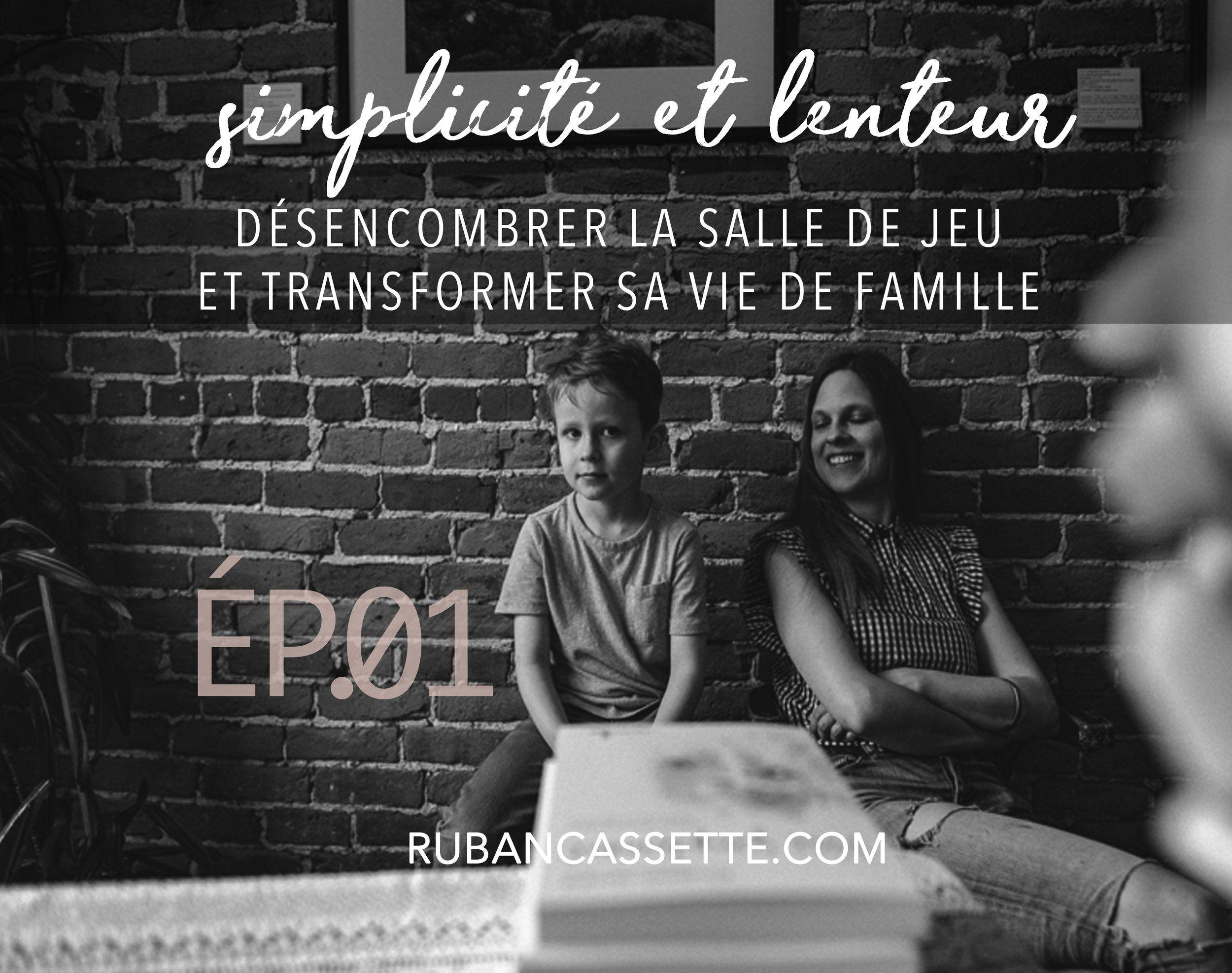 Episode 1 Desencombrer La Salle De Jeu Et Transformer Sa Vie De