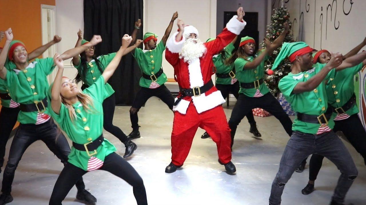 Hip-Hop Santa! @TheKingOfWeird 😂🎅🏾🔥🎄 (With images) | Winter music, Baby momma dance