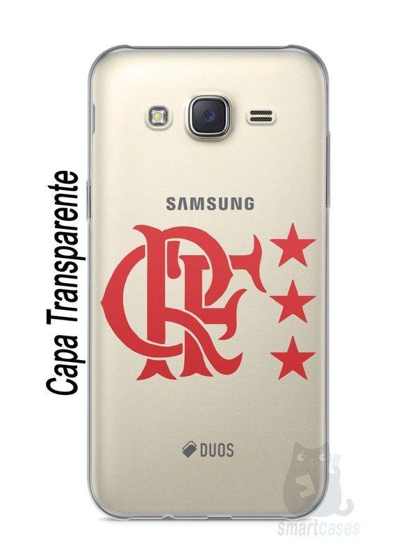 7ff4286acd Capa Capinha Samsung J7 Time Flamengo  7 - SmartCases - Acessórios para  celulares e tablets  )