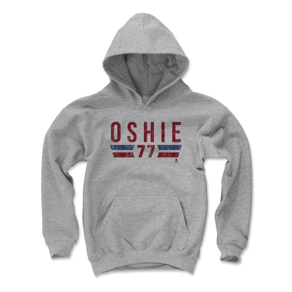 T.J. Oshie Font R Washington Officially Licensed NHLPA Youth Hoodie S-XL