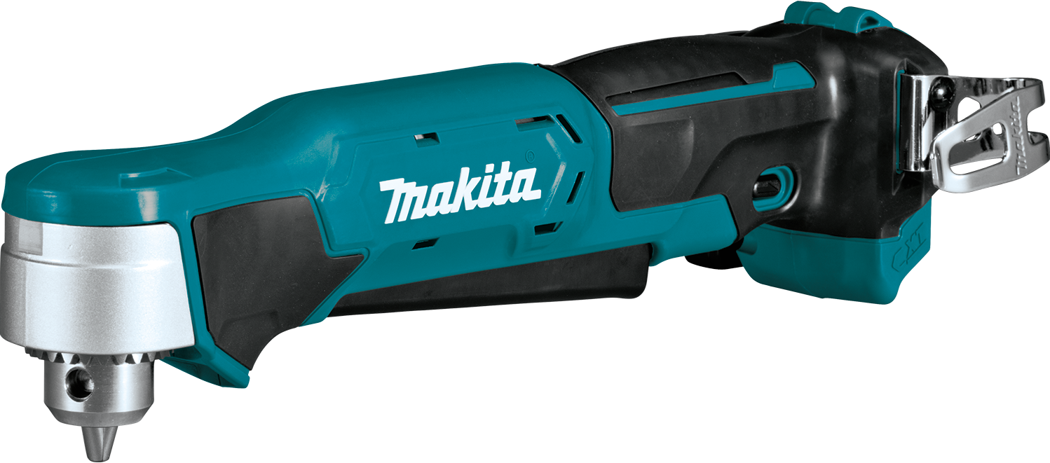 The Makita 12v Max Cxt Lithium Ion Cordless 3 8 Right Angle Driver Drill Delivers Power And Speed In An Ultra Compact Size For Effic Makita Drill Angle Drill