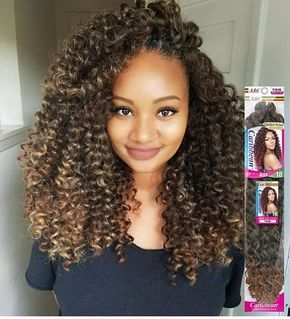 Pin By Dionna Jacquet On Hair Curly Crochet Hair Styles