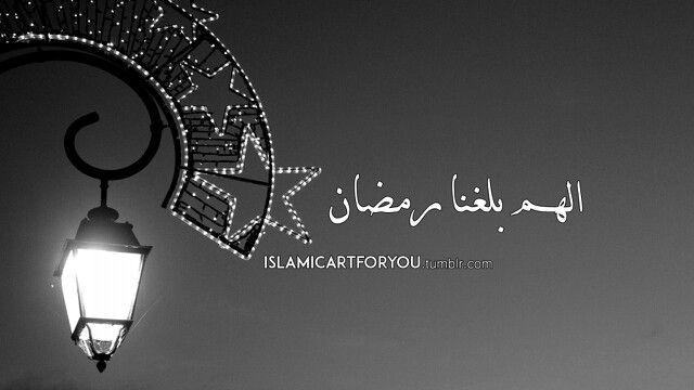 اللهم بلغنا رمضان لا فاقدين ولا مفقودين Greetings Home Decor Decals Arabic Calligraphy