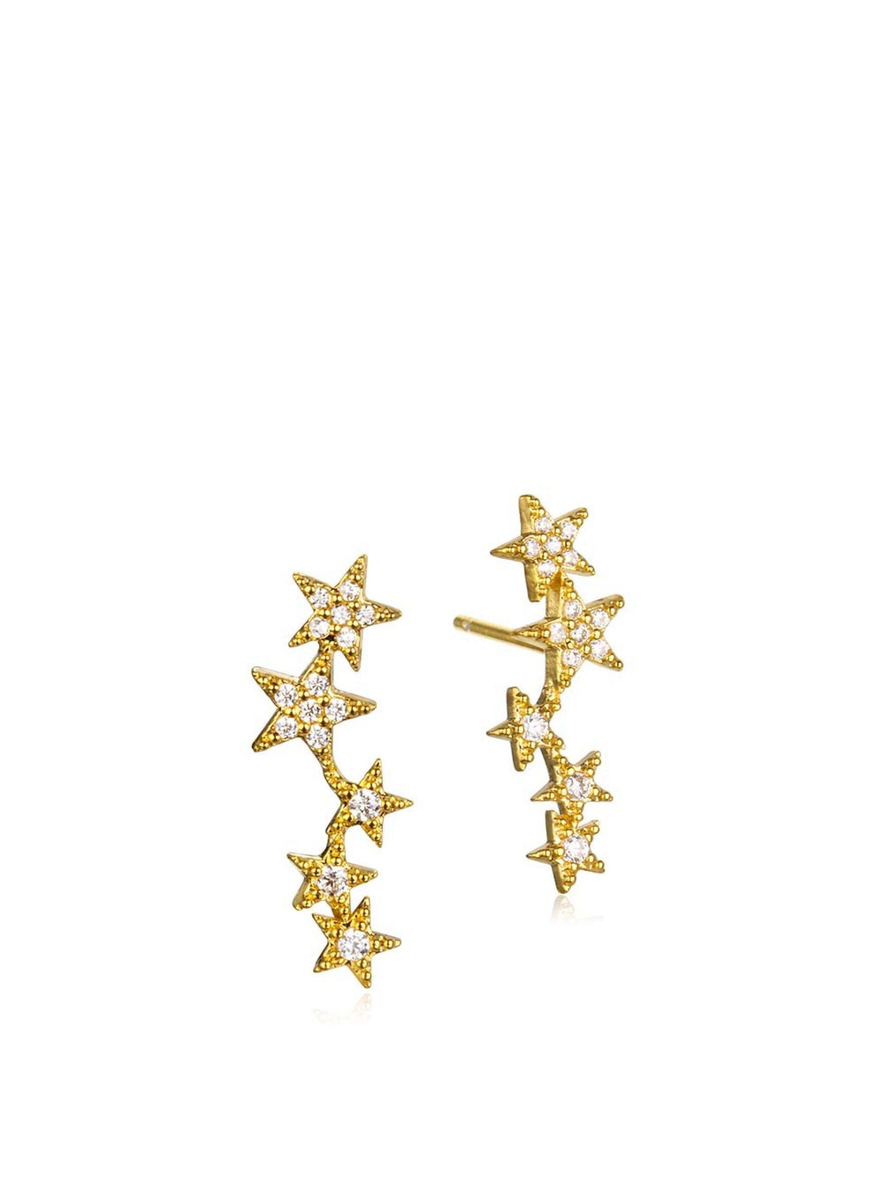 Tai JewelryEarrings5 Star Constellation Earrings