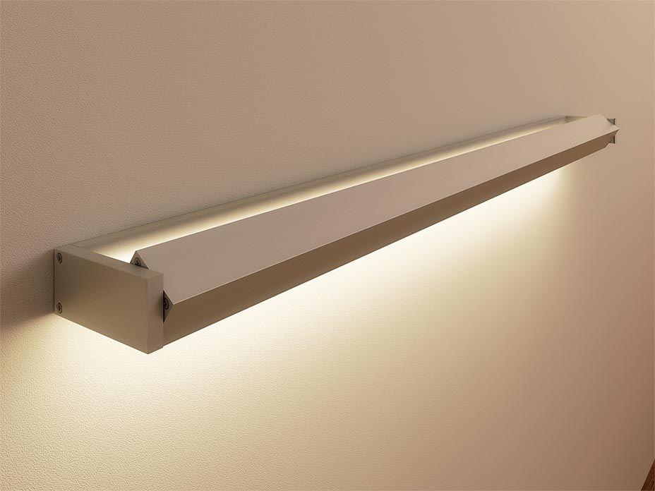 Wandleuchte Badezimmer ~ Led wandleuchte breite cm aluminium wandleuchte
