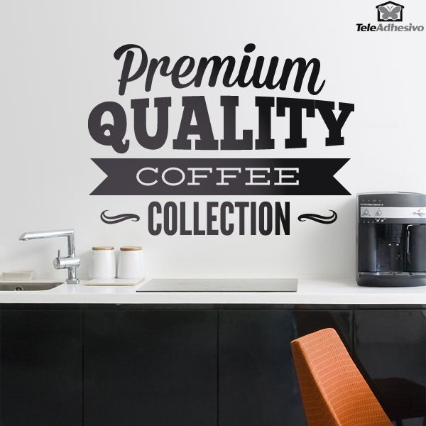 Wandtattoos Premium Quality Coffee Collection