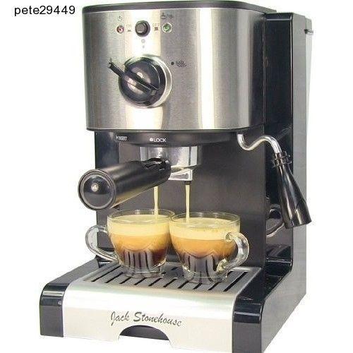 Professional Espresso Cuccino Barista 15 Bar Coffee Maker Machine Commercial Jackstonehouse