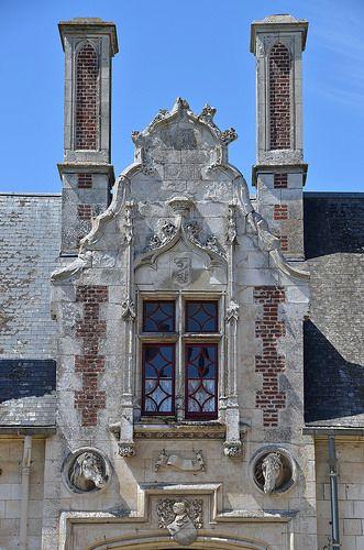 Château de Regnière-Ecluse  -  Somme. Picardie