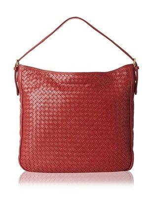 59% OFF Zenith Women's Woven Large Shoulder Bag, Wine