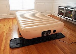 Great Inflatable Air Bed On Stand With