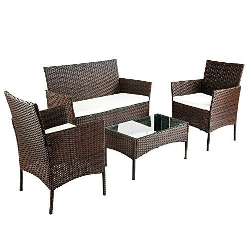 Maze Rattan Milan 8 Seat Round Dining Set With Carver Chairs: LIFE CARVER Rattan Garden Furniture Sets Patio Furniture