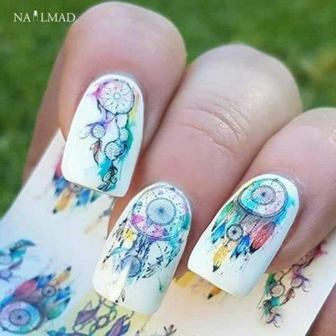 stunning nail art  designs 2018  dream catcher nails