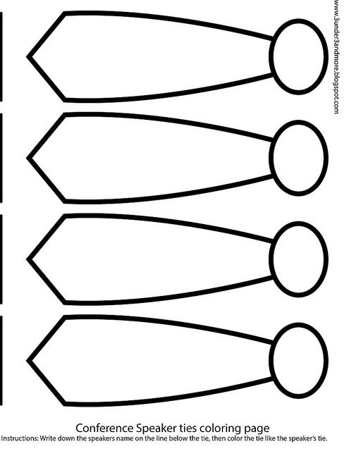 coloring pages of ties - photo#19